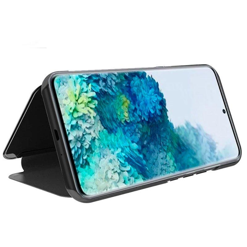Funda Flip Cover Samsung G985 Galaxy S20 Plus Clear View Negro