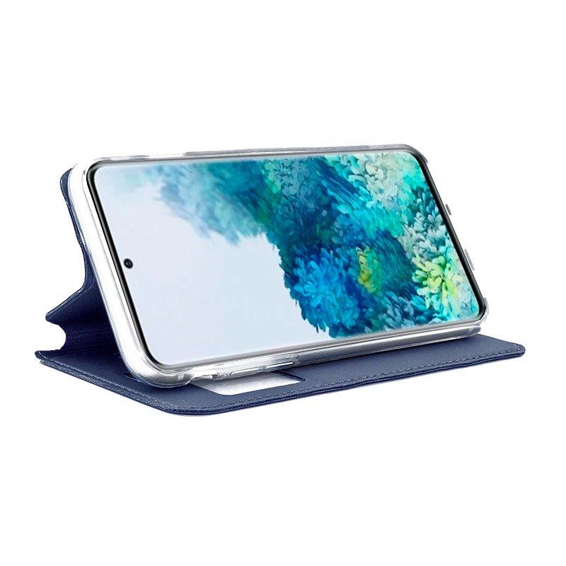 Funda Flip Cover Samsung G985 Galaxy S20 Plus Liso Azul