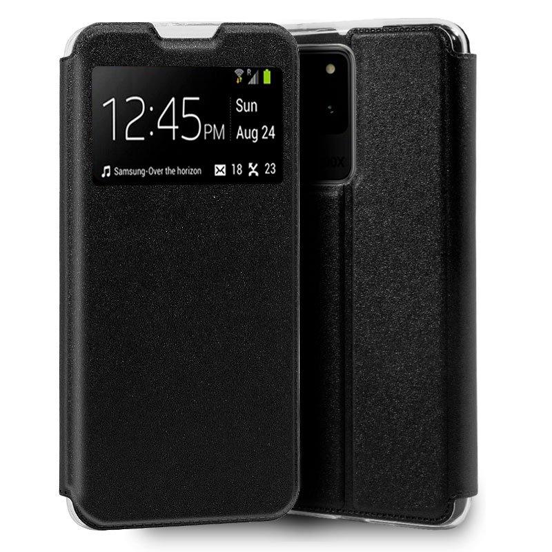 Funda Flip Cover Samsung G988 Galaxy S20 Ultra 5G Liso Negro