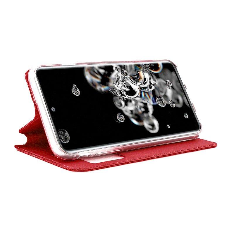 Funda Flip Cover Samsung G988 Galaxy S20 Ultra 5G Liso Rojo