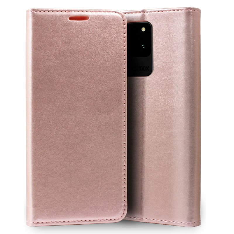 Funda Flip Cover Samsung G988 Galaxy S20 Ultra 5G Liso Rosa