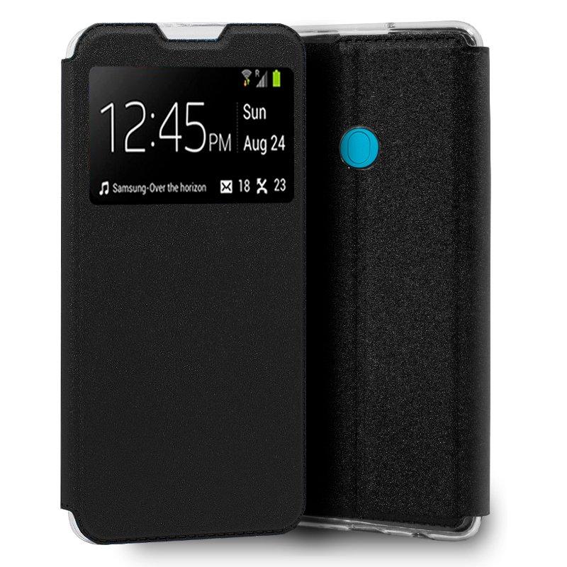 Funda Flip Cover Samsung M115 Galaxy M11 / A11 Liso Negro