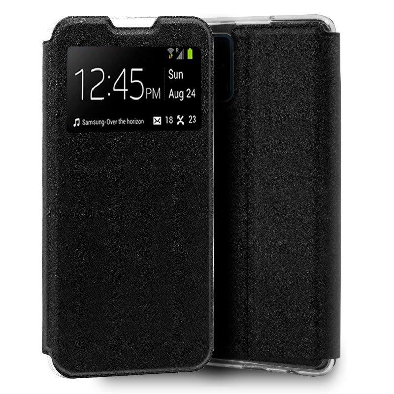 Funda Flip Cover Samsung N770 Galaxy Note 10 Lite Liso Negro