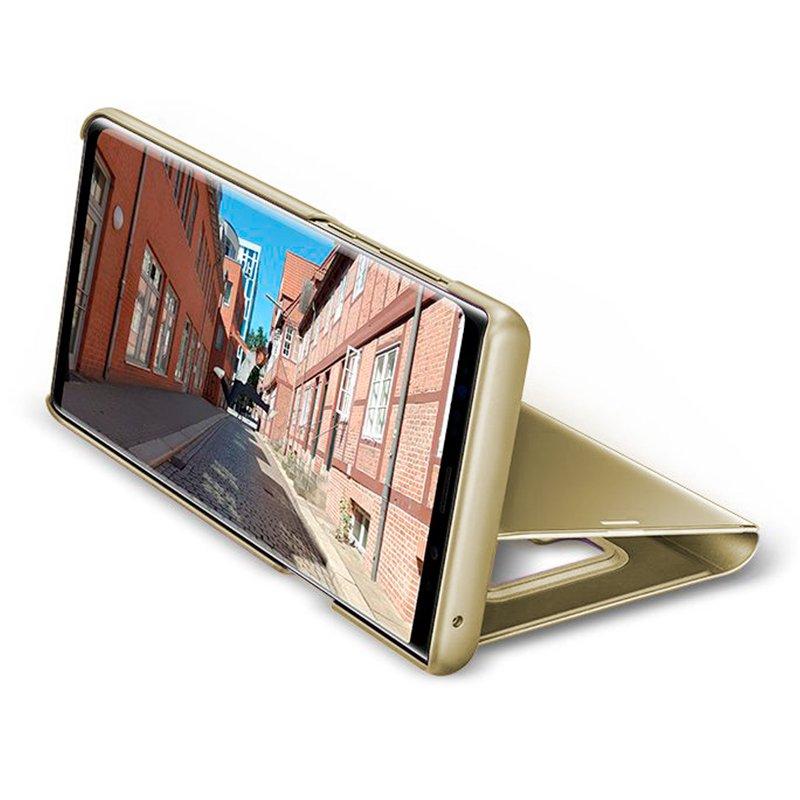 Funda Flip Cover Samsung N960 Galaxy Note 9 Clear View Dorado