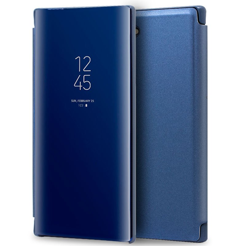 Funda Flip Cover Samsung N970 Galaxy Note 10 Clear View Azul