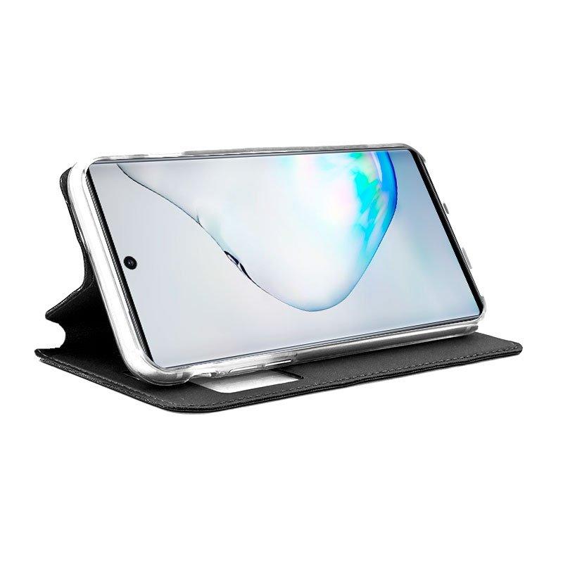 Funda Flip Cover Samsung N970 Galaxy Note 10 Liso Negro