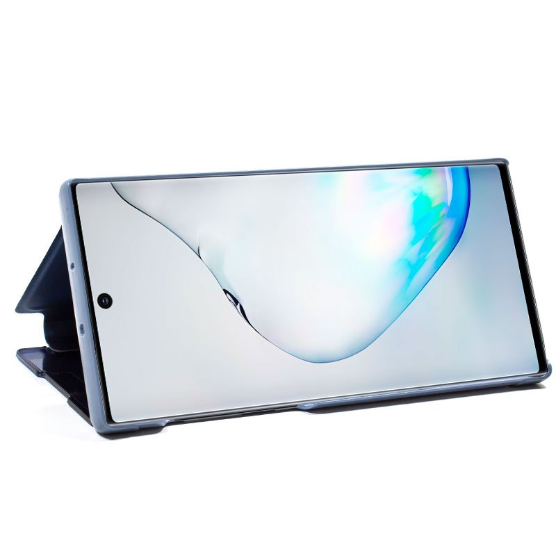 Funda Flip Cover Samsung N975 Galaxy Note 10 Plus Clear View Azul