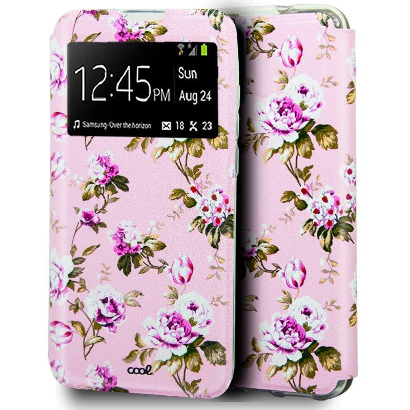 Funda Flip Cover Samsung N980 Galaxy Note 20 Dibujos Flores