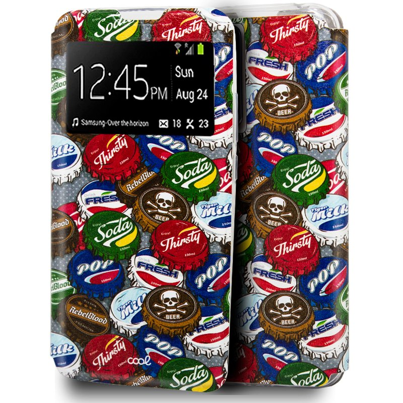 Funda Flip Cover Samsung N985 Galaxy Note 20 Ultra Dibujos Chapas