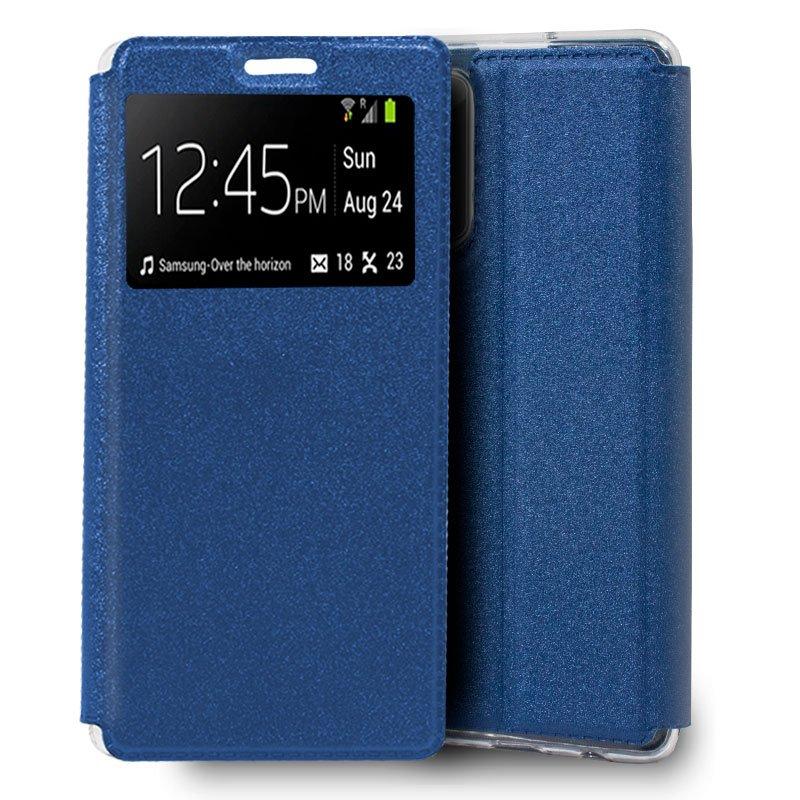 Funda Flip Cover Samsung N985 Galaxy Note 20 Ultra Liso Azul