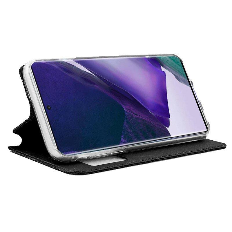 Funda Flip Cover Samsung N985 Galaxy Note 20 Ultra Liso Negro