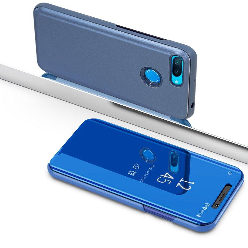 Funda Flip Cover Xiaomi Mi 8 Lite Clear View Azul