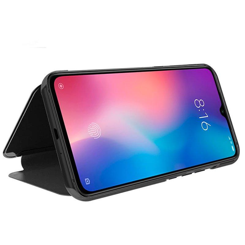 Funda Flip Cover Xiaomi Mi 9 SE Clear View Negro