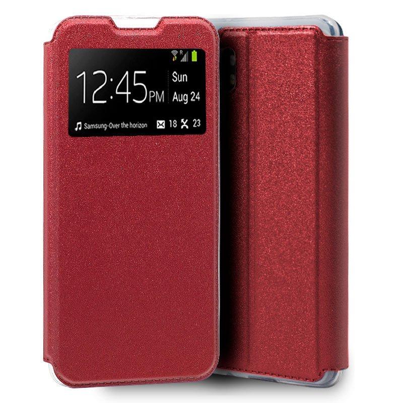 Funda Flip Cover Xiaomi Mi Note 10 / Mi Note 10 Pro Liso Rojo