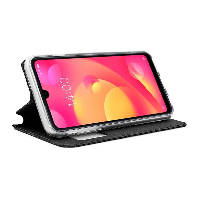 Funda Flip Cover Xiaomi Mi Play Liso Negro