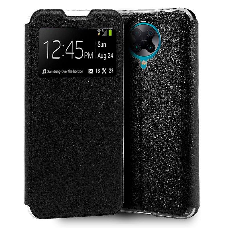 Funda Flip Cover Xiaomi Pocophone F2 Pro Liso Negro