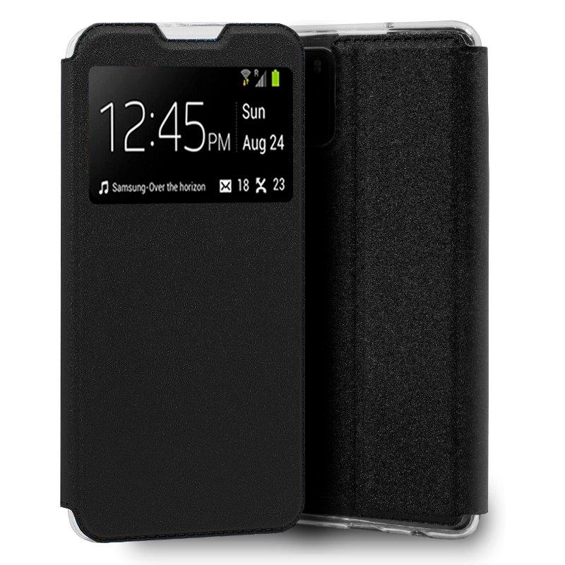 Funda Flip Cover Xiaomi Pocophone M3 Liso Negro