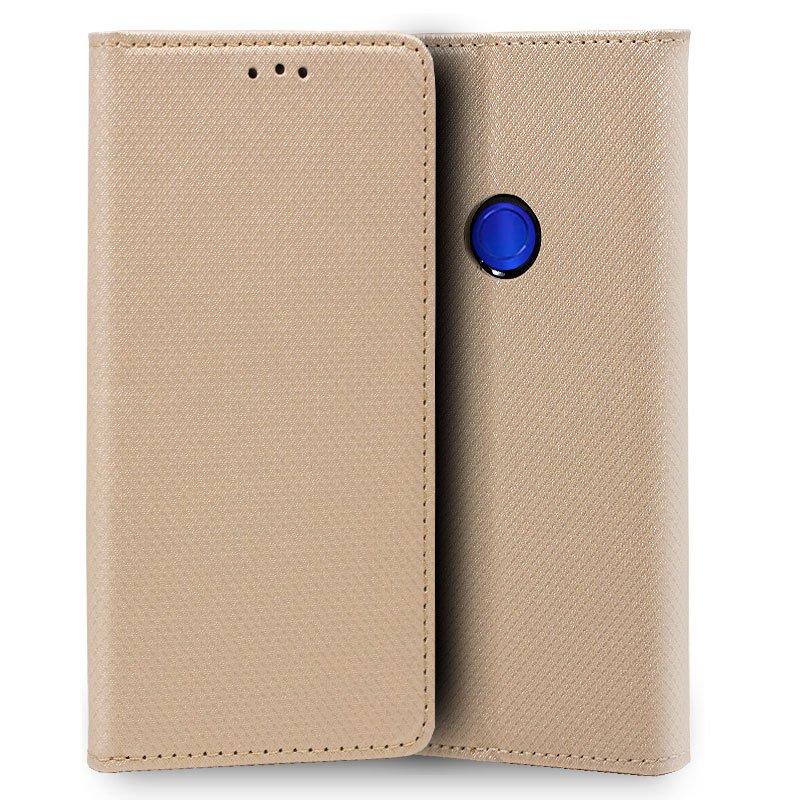 Funda Flip Cover Xiaomi Redmi 7 Liso Beige