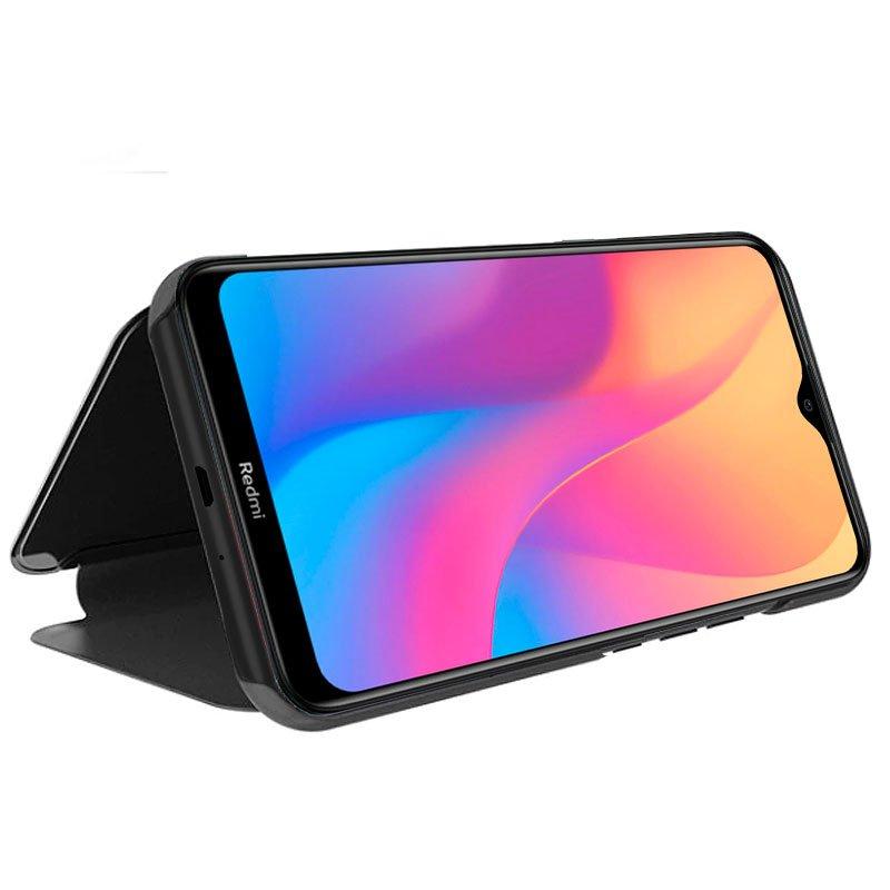 Funda Flip Cover Xiaomi Redmi 8 / 8A Clear View Negro