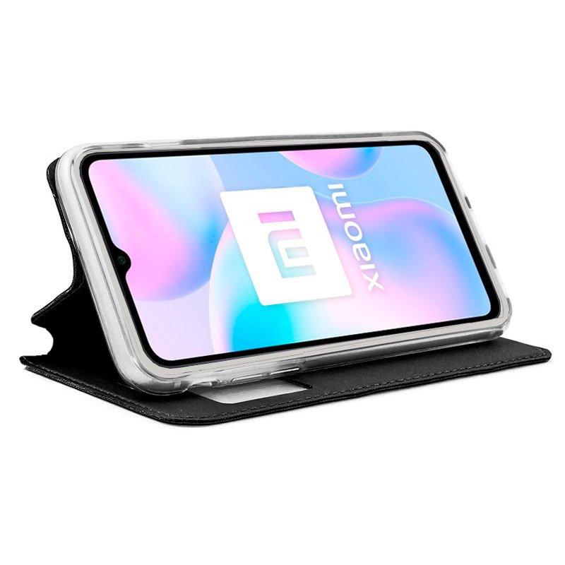 Funda Flip Cover Xiaomi Redmi 9A / 9AT Liso Negro
