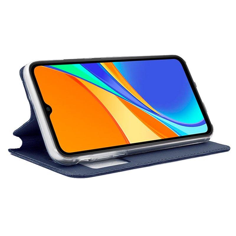 Funda Flip Cover Xiaomi Redmi 9C Liso Azul