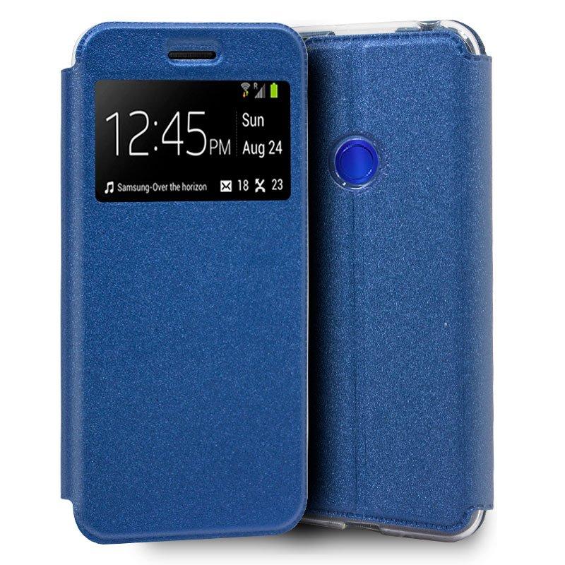 Funda Flip Cover Xiaomi Redmi Note 7 / Note 7 Pro Liso Azul