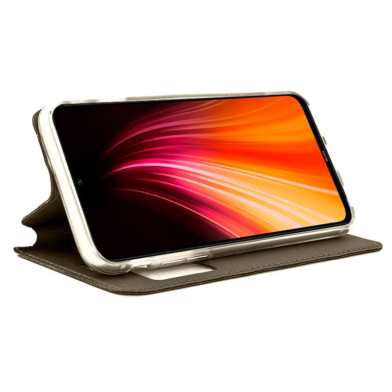 Funda Flip Cover Xiaomi Redmi Note 8 Liso Bronce