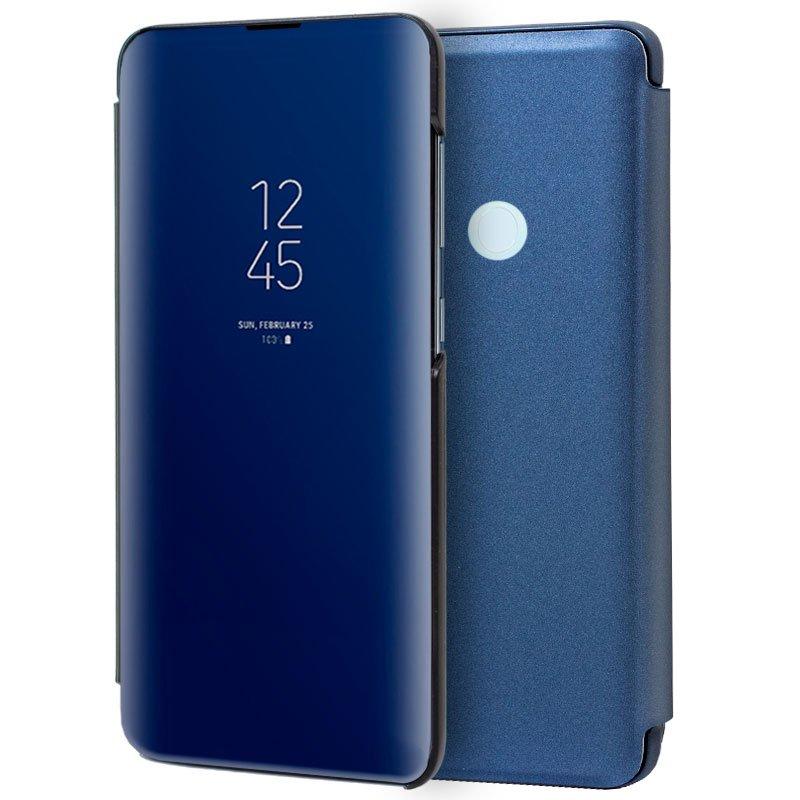 Funda Flip Cover Xiaomi Redmi Note 8T Clear View Azul