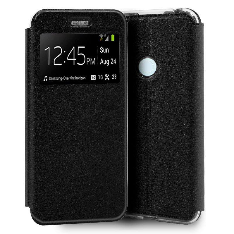 Funda Flip Cover Xiaomi Redmi Note 8T Liso Negro