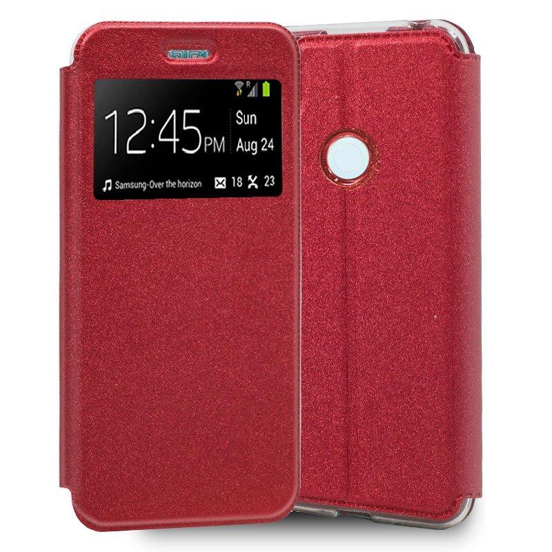 Funda Flip Cover Xiaomi Redmi Note 8T Liso Rojo