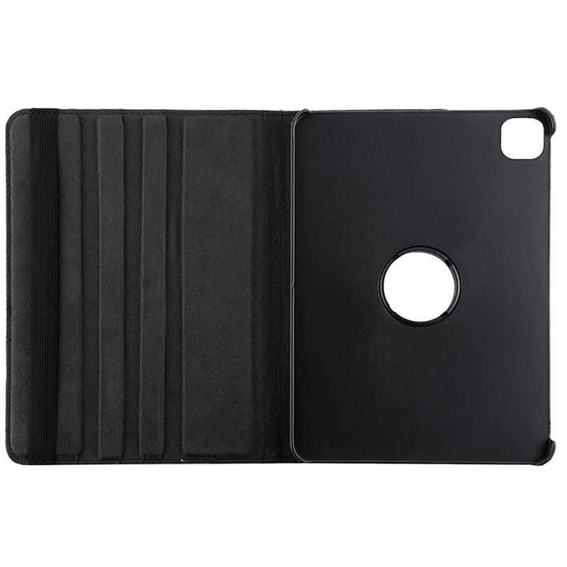 Funda iPad Pro 12.9 pulg (2020) Giratoria Polipiel Negro