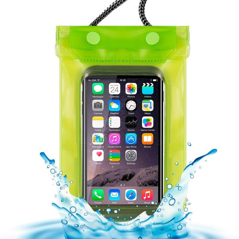 Funda Saco Waterproof Universal Verde