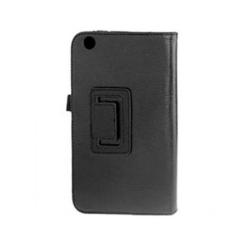 Funda Samsung Galaxy Tab 3 P3200 Polipiel Negra 7 pulg