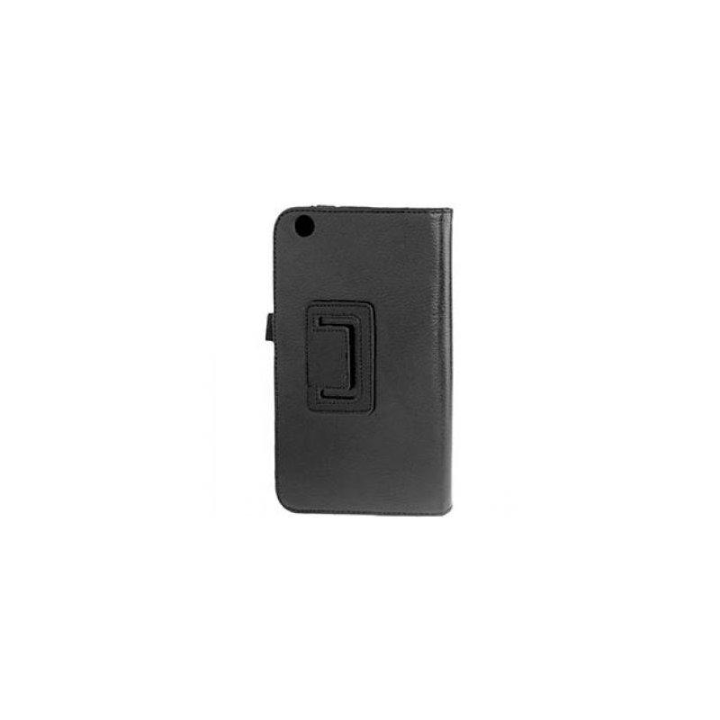 Funda Samsung Galaxy Tab 3 T3100 Polipiel Negra 8.0 pulg
