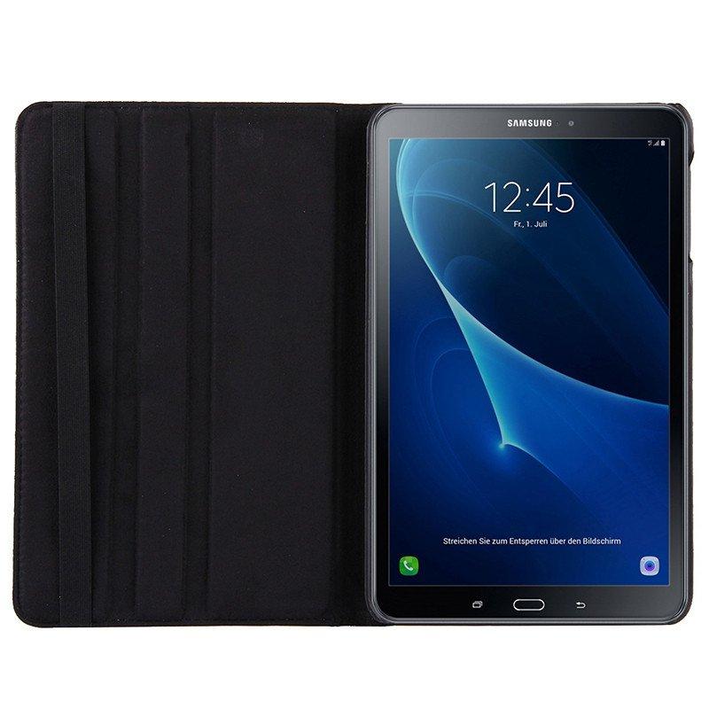 Funda Samsung Galaxy Tab A (2016 / 2018) T580 / T585 Polipiel Liso Negro 10.1 pulg