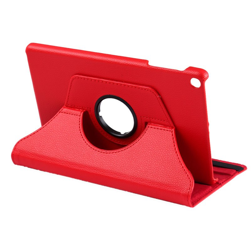 Funda Samsung Galaxy Tab A (2019) T510 / T515 Polipiel Liso Rojo 10.1 pulg