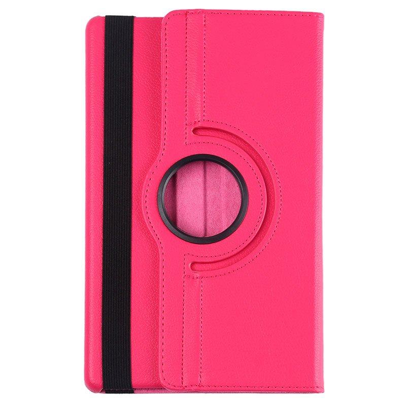 Funda Samsung Galaxy Tab A (2019) T510 / T515 Polipiel Liso Rosa 10.1 pulg