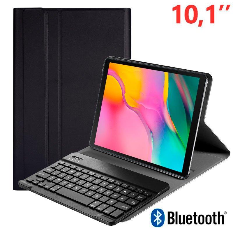 Funda Samsung Galaxy Tab A (2019) T510 / T515 Polipiel Teclado Bluetooth 10.1 Pulg