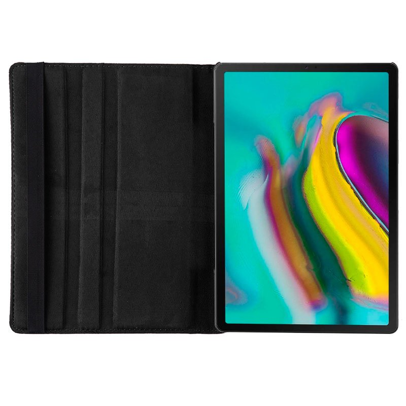Funda Samsung Galaxy Tab S5e T720 / T725 Polipiel Negro 10.5 pulg