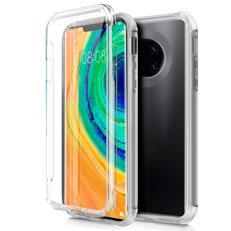 Funda Silicona 3D Huawei Mate 30 Pro (Transparente Frontal + Trasera)