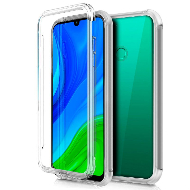 Funda Silicona 3D Huawei P Smart 2020 (Transparente Frontal + Trasera)
