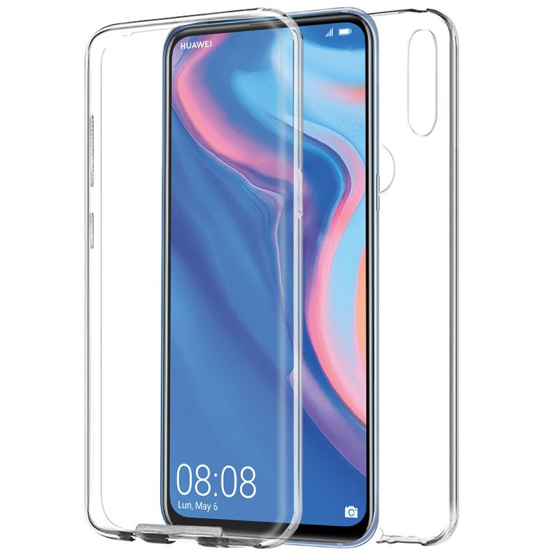 Funda Silicona 3D Huawei P Smart Z / Honor 9X (Transparente Frontal + Trasera)