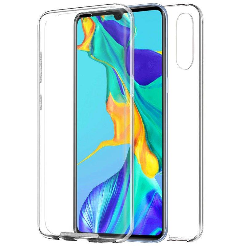 Funda Silicona 3D Huawei P30 (Transparente Frontal + Trasera)