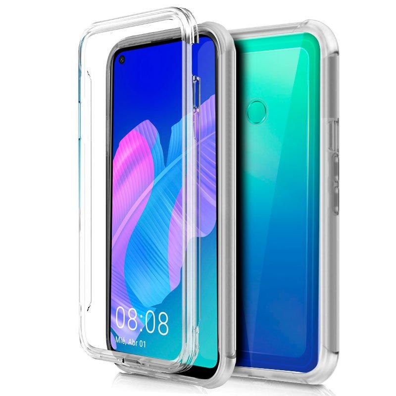 Funda Silicona 3D Huawei P40 Lite E (Transparente Frontal + Trasera)