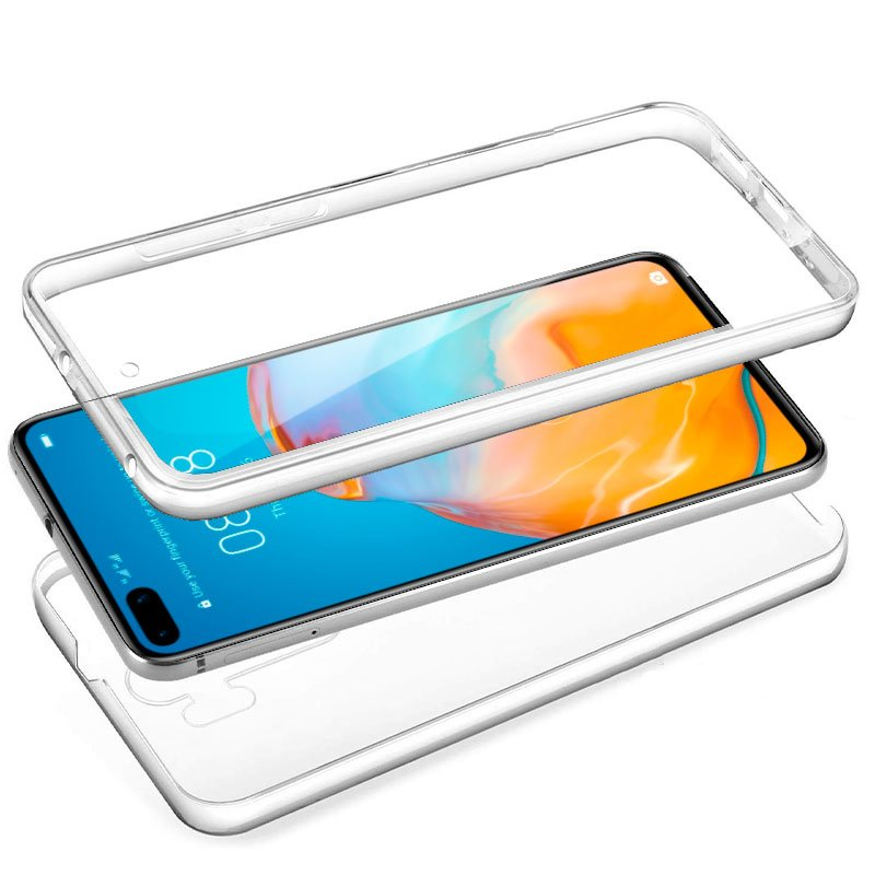 Funda Silicona 3D Huawei P40 (Transparente Frontal + Trasera)