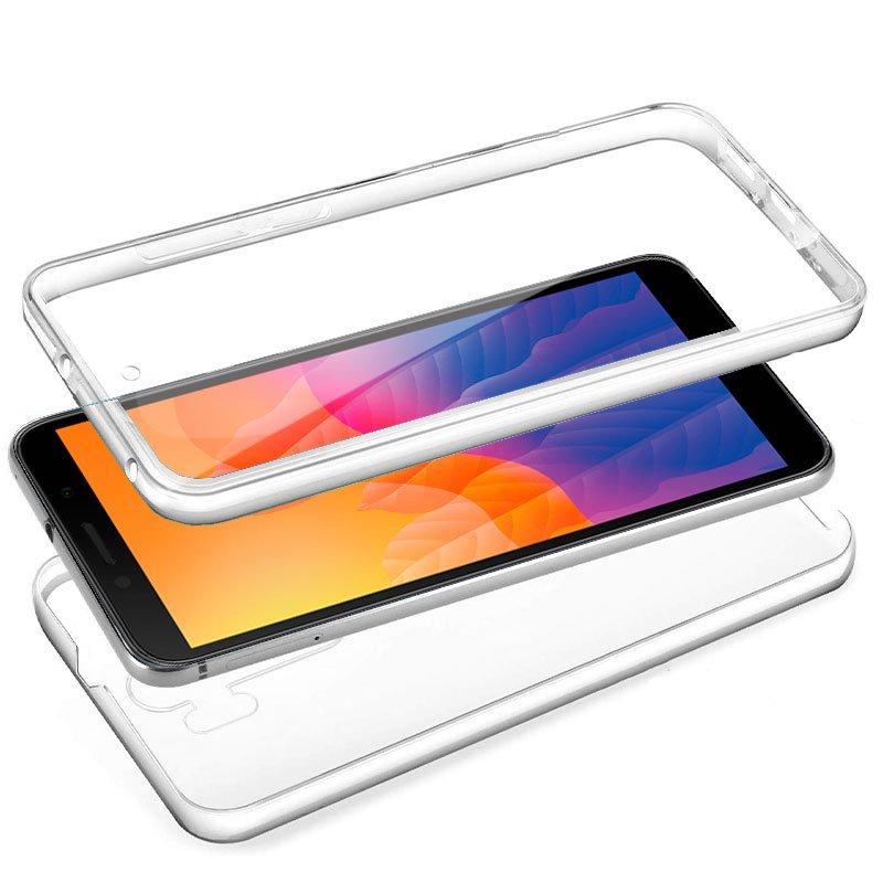 Funda Silicona 3D Huawei Y5p (Transparente Frontal + Trasera)
