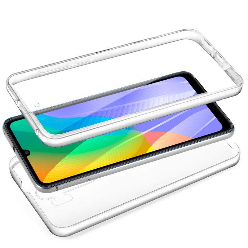 Funda Silicona 3D Huawei Y6p (Transparente Frontal + Trasera)
