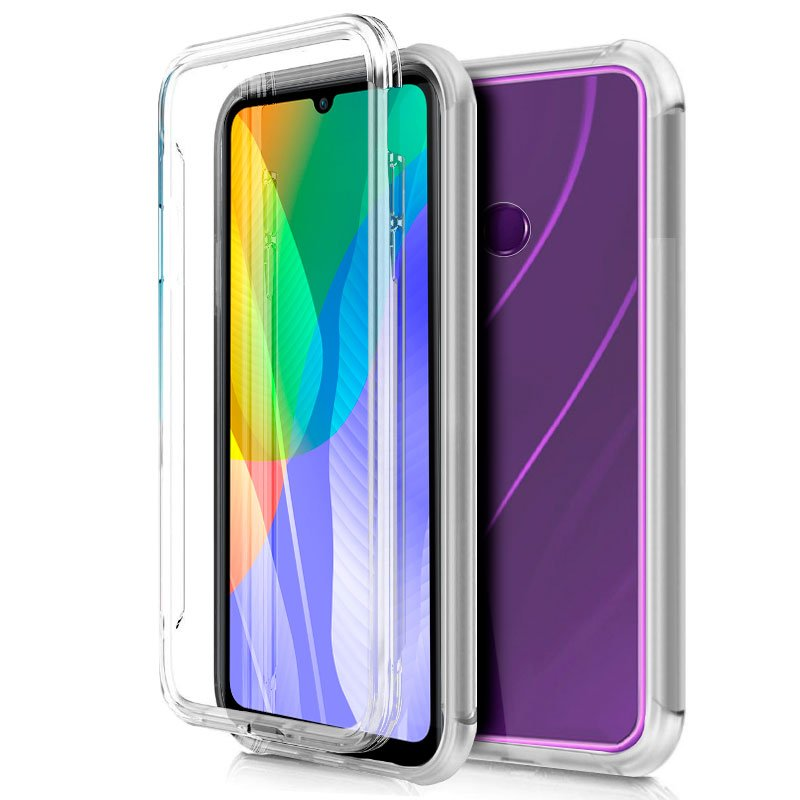 Funda Silicona 3D Huawei Y6p (Transparente Frontal + Trasera)