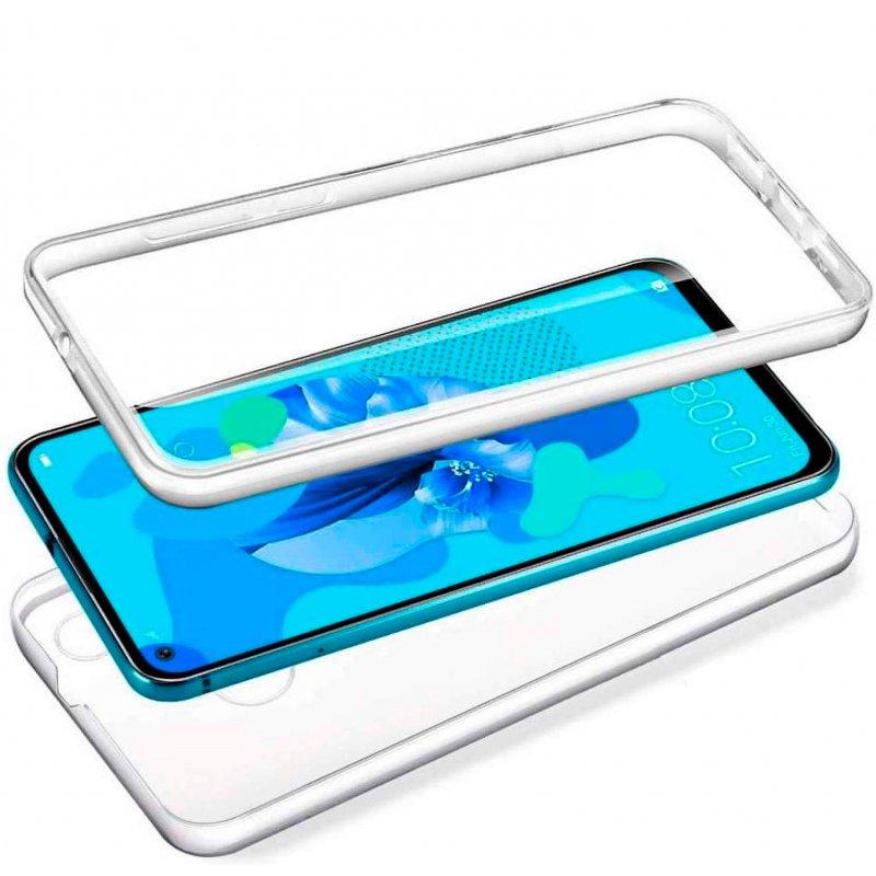Funda Silicona 3D LG Q60 / K50 (Transparente Frontal + Trasera)