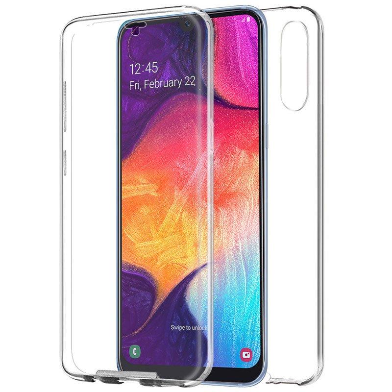 Funda Silicona 3D Samsung A505 Galaxy A50 / A30s (Transparente Frontal + Trasera)
